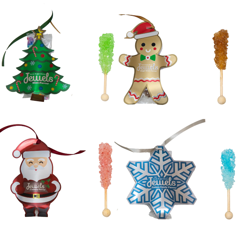 Christmas Edition Rock Sugars by JEWELS