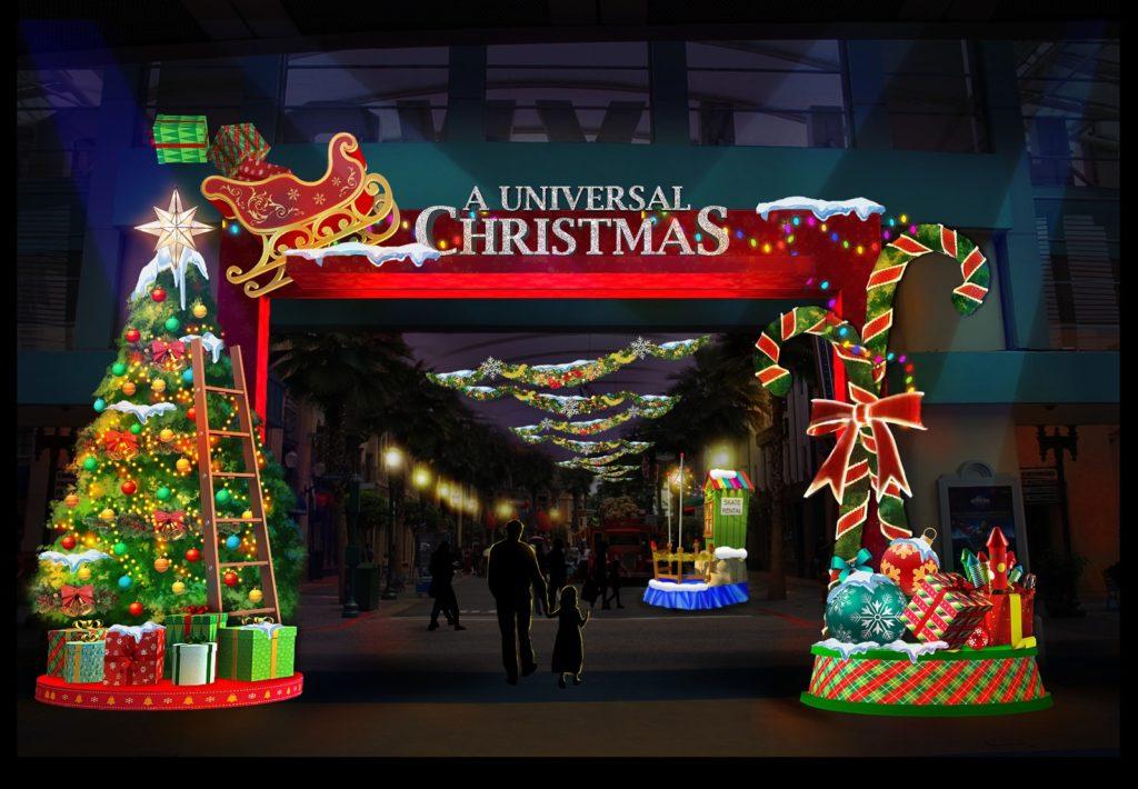 Universal Christmas Entrance