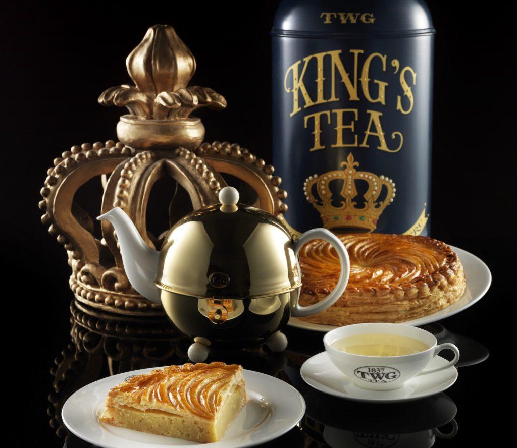 King's Cake and Tea