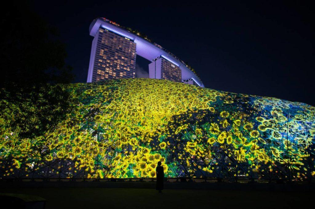 Message Pillar – The Singapore Bicentennial